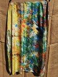 Klimt sjaal en kleure dubbelzijdig_