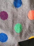 Bolletjes socks diverse kleuren_