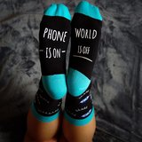 Phone is on, world is off_