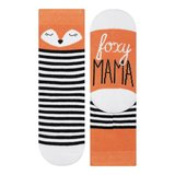 002) Foxy mama, clever little fox_