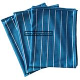 GG ) Bamboe Glas doeken per 3 stuks (blauw)_