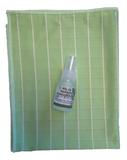 DD ) Bamboe glasdoek + tester concentraat (groen)_