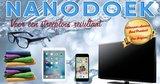 AA) Nano Poets Doek met Nanoliquid tester (grijs)_