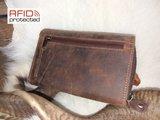Dames Portemonnee RFID Protection van Buffelleder Type 3_