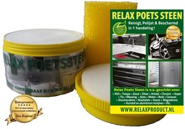 Relax Witte Poets Steen