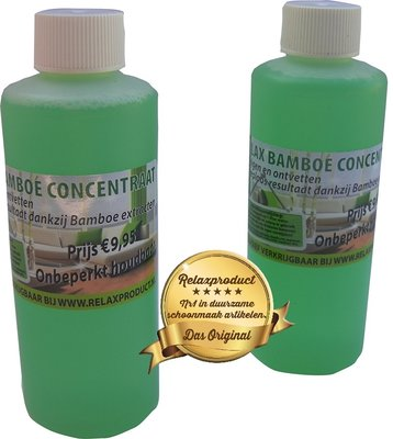 Bamboe Concentraat 2x