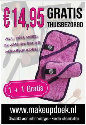 Makeup doek Elite 1+1 gratis
