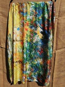 Klimt sjaal en kleure dubbelzijdig