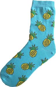 Ananas socks diverse kleuren