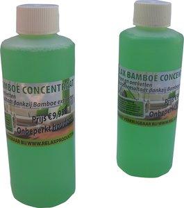 bamboeconcentraat - schoonmaakmiddel - ramen