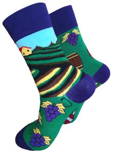 Wijngaard sokken