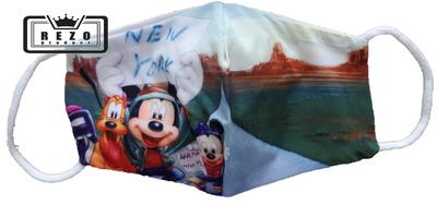 Mondkapje Kind Mickey op reis