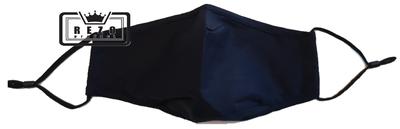 Mondkapje 3Laags met neusklem donker blauw
