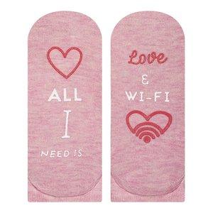 All i need is... love & wifi sneaker