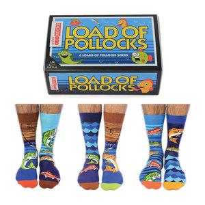 Box load of pollocks