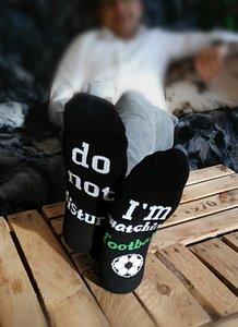DO NOT DISTURB... I´m watching football