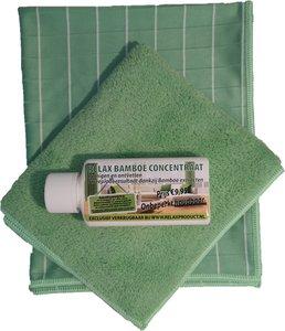 DD ) Bamboedoek mix starter set (groen)