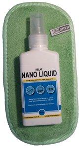 AA) Nano Brillendoekje met NanoLiquid (groen)