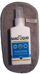AA) Nano Brillendoekje met NanoLiquid (grijs)