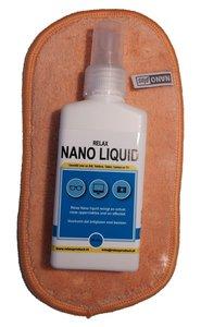 AA) Nano Brillendoekje met NanoLiquid (oranje)