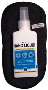 AA) Nano Brillendoekje met NanoLiquid (zwart)