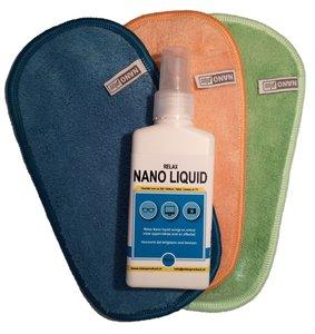 A) Nano Brillendoekjes 3x met NanoLiquid (GROOT)
