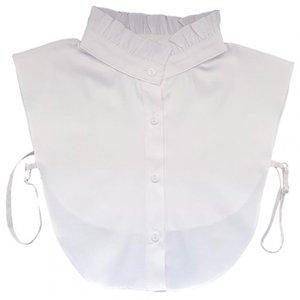Losse blouse kraag barok wit katoen