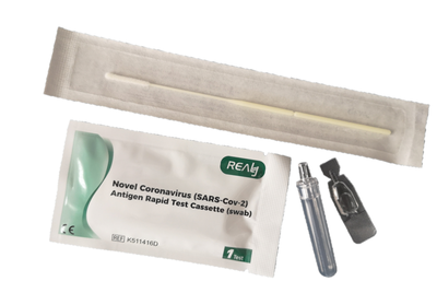 2x SNELTEST REALY TECH NOVEL CORONAVIRUS SARS-COV-2 SWAB TEST