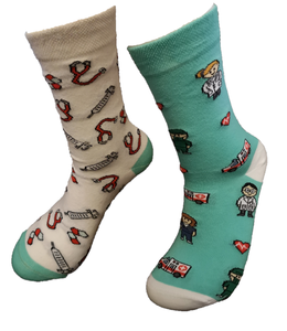 Medicijn-Dokter-Zuster Mismatch sokken